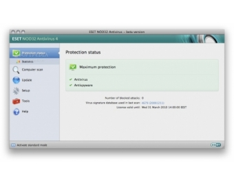 ESET Cybersecurity Mac OS X
